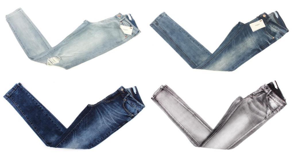 eca59284c18576 Damen Vero Moda Jeans Hosen Marken Mix Restposten Kleidung Mode Textilien