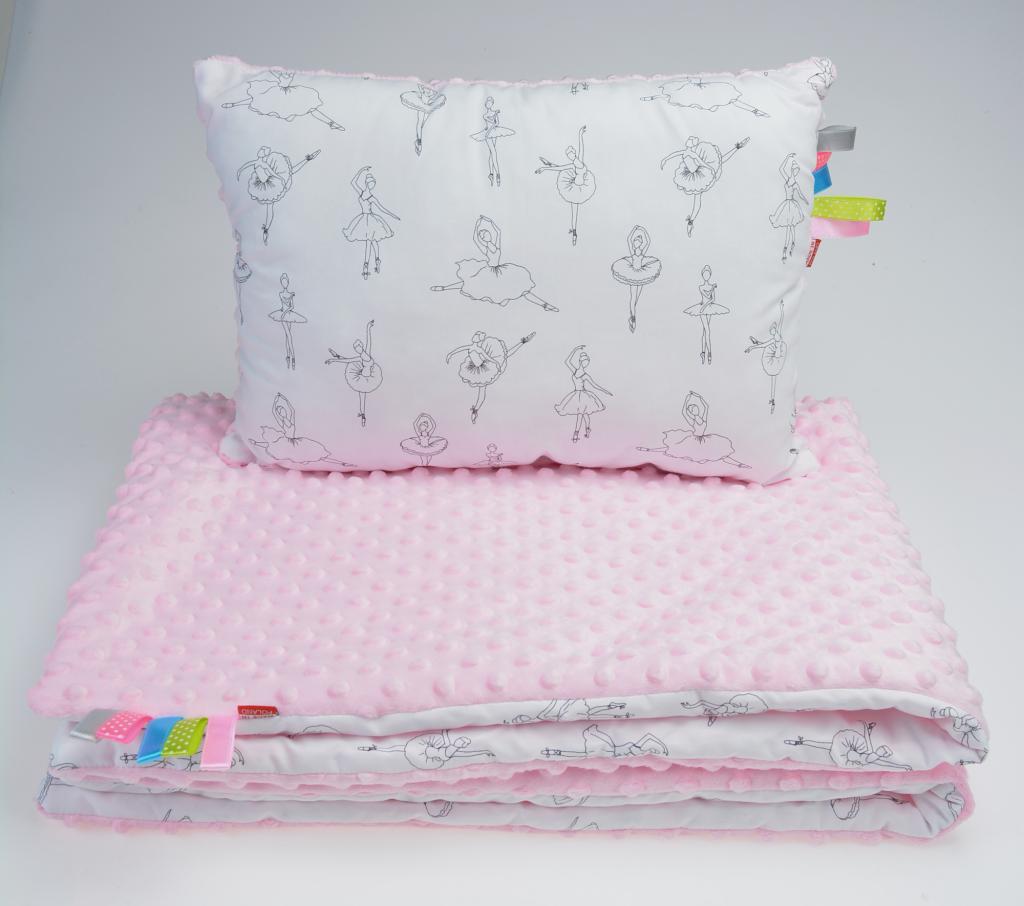 Minky Babyhörnchen 80x80cm Plüsch//Baumwolle Schlafsack Für die Taufe Weiß