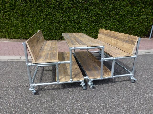 Bauholz Möbel von www exklusivdutchdesign de Massivholz in ...