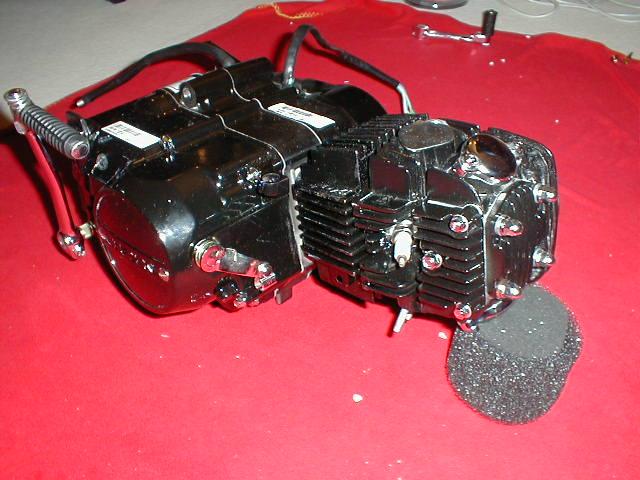 150 cc lifan motor f r dax monkey pbr madass pitbike in. Black Bedroom Furniture Sets. Home Design Ideas