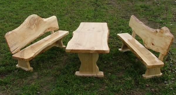 , Gartenmöbel, Einrichtung aus Echtholz , günstig massiv, rustikal