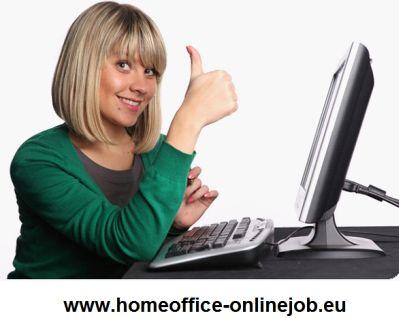 onlinejob als b rot tigkeit im home office am pc arbeiten. Black Bedroom Furniture Sets. Home Design Ideas