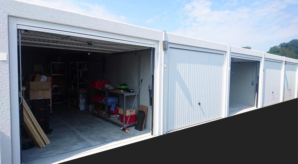 garage blechgarage metallgarage schuppen fertiggarage lager mit sattel in m nchen immobilien. Black Bedroom Furniture Sets. Home Design Ideas