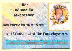 einladungskarten einladungen als puzzle in alt duvenstedt | hobby, Einladung