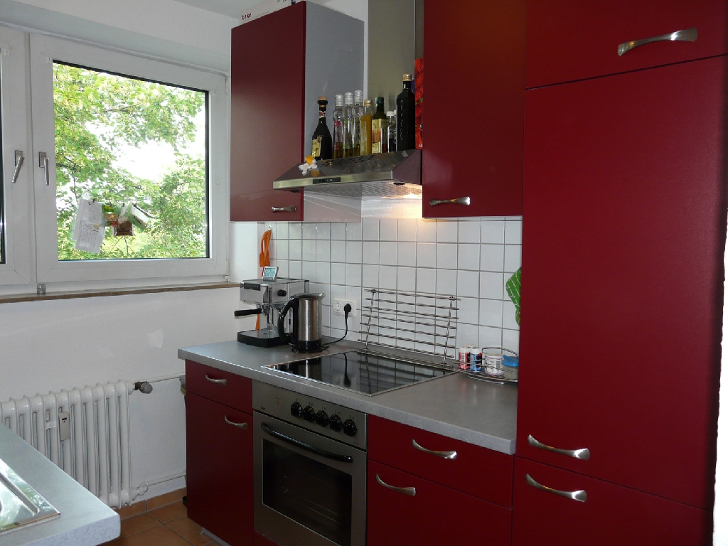 Wie neu keine 2 jahre alt schöne rote impuls küche alno made in