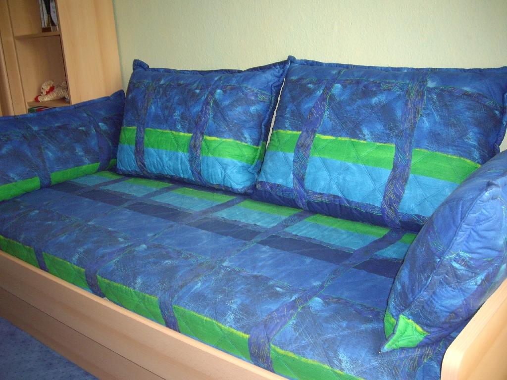 jugendzimmer neuwertig bett regale kommode hifi center in. Black Bedroom Furniture Sets. Home Design Ideas