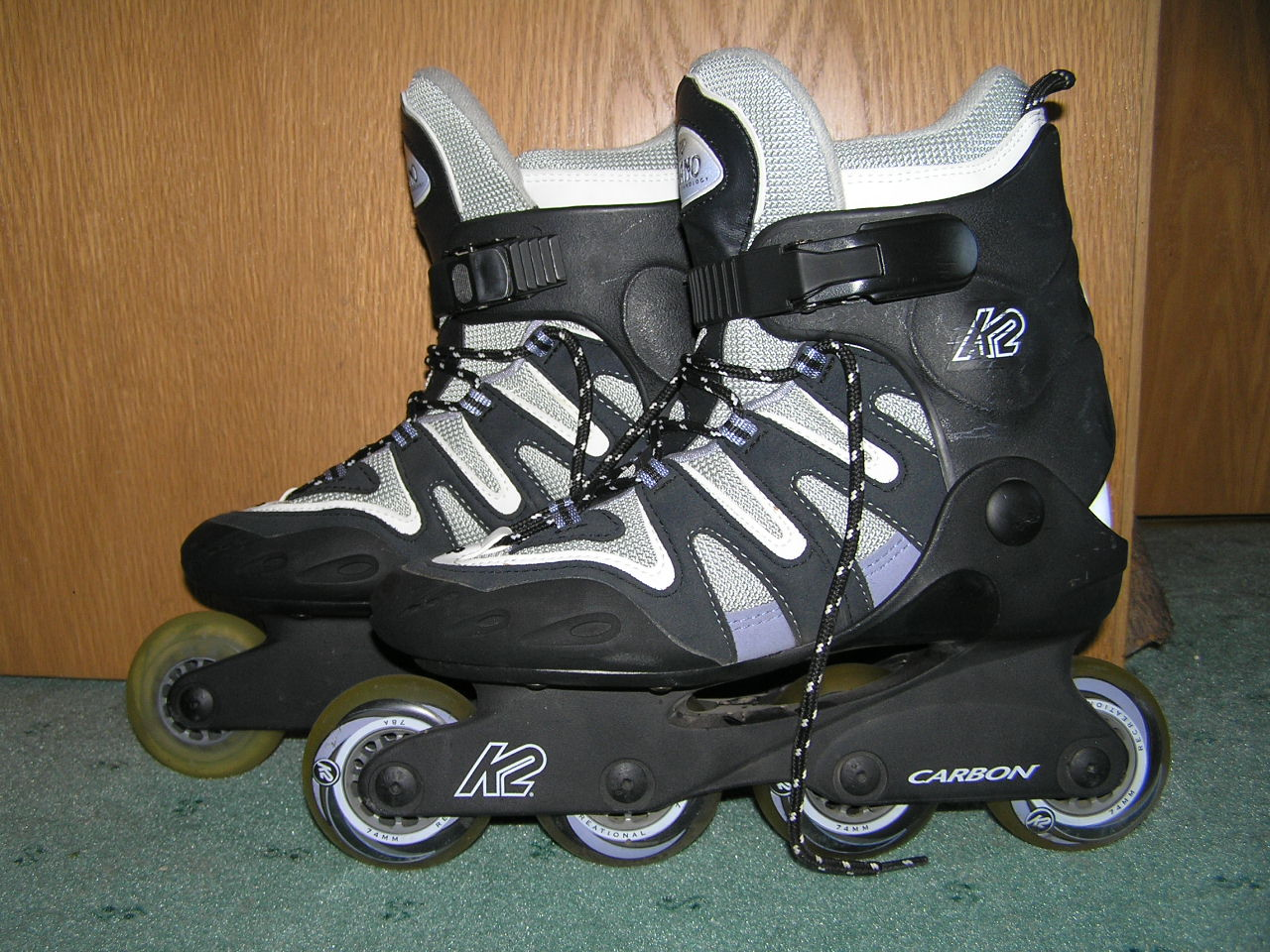 k2 inliner skates gr 38 39 inline skate skates softboots. Black Bedroom Furniture Sets. Home Design Ideas