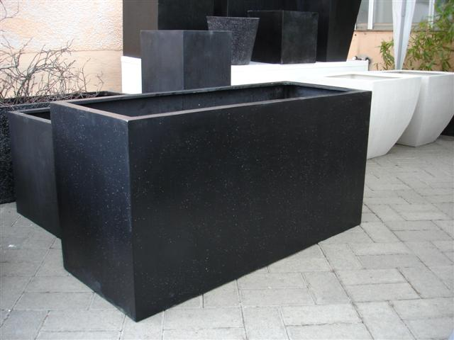 neu bert pfe trog pflanzk bel blumentopf bertopf aus fiberglas terrazzo g nst in ludwigsburg. Black Bedroom Furniture Sets. Home Design Ideas