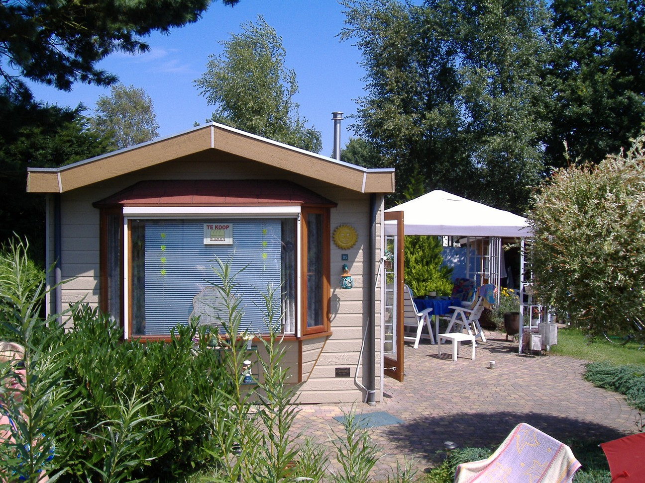 Chalet In Den Niederlanden Mit Gartenhaus Zu Verkaufen In