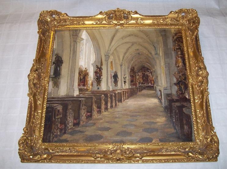 Antikes Meisterwerk Von Maler Tuthschneider