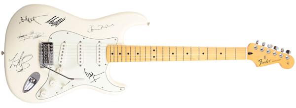 Auktionen Autogramme Autographs signierte Gitarren ...