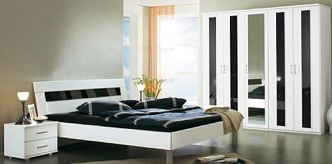 schlafzimmer schlafzimmereinrichtung borbona viel stauraum und moderner look in havelberg. Black Bedroom Furniture Sets. Home Design Ideas