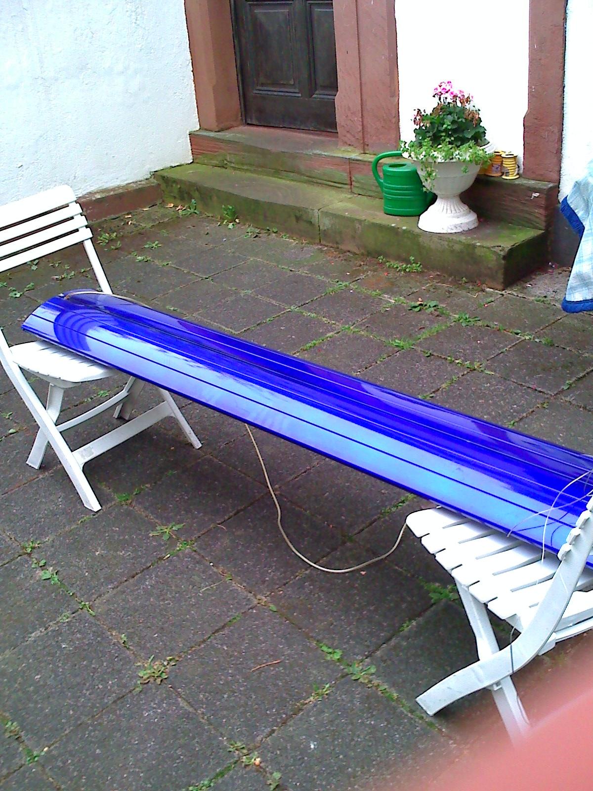 giesemann aquarium beleuchtung in blau 80cm mal 150 hqi in frankfurt tiere kleinanzeigen. Black Bedroom Furniture Sets. Home Design Ideas