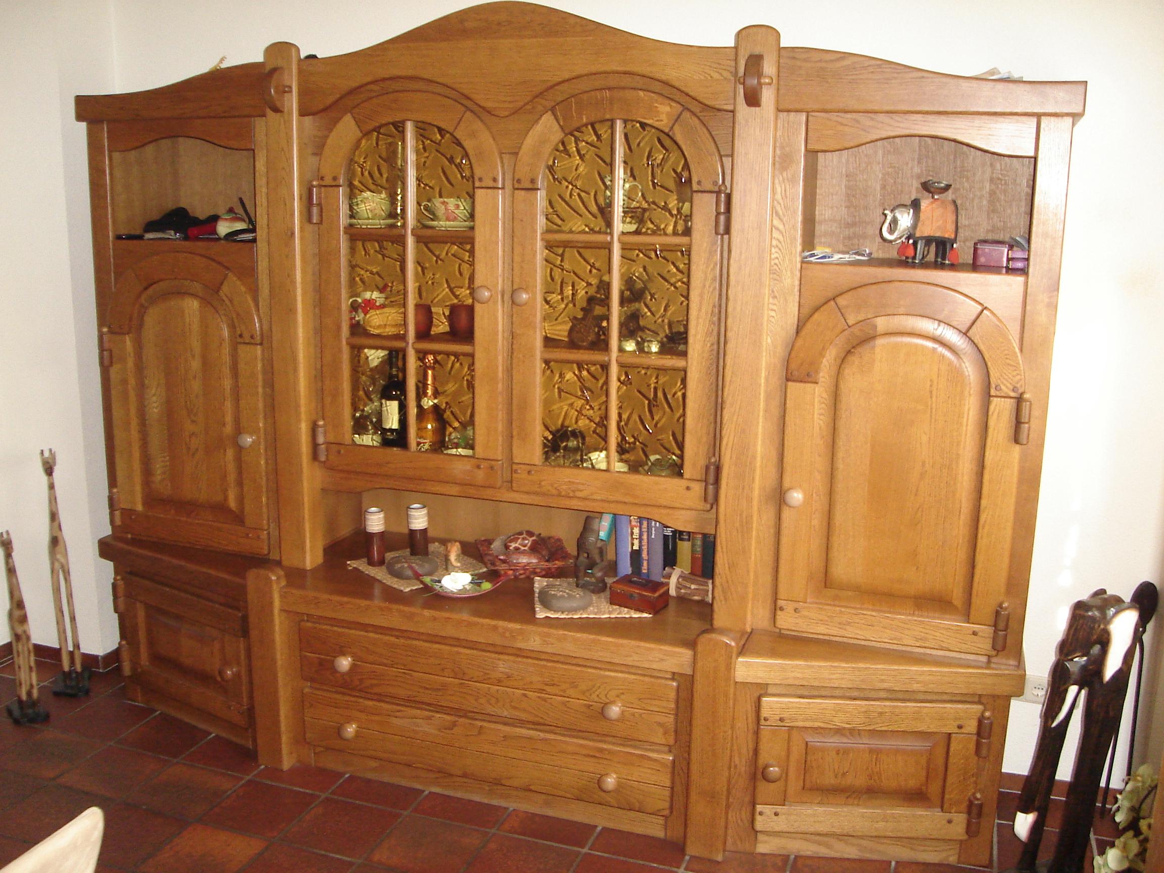 Wohnzimmerschrank Eiche Massiv Zu Verkaufen