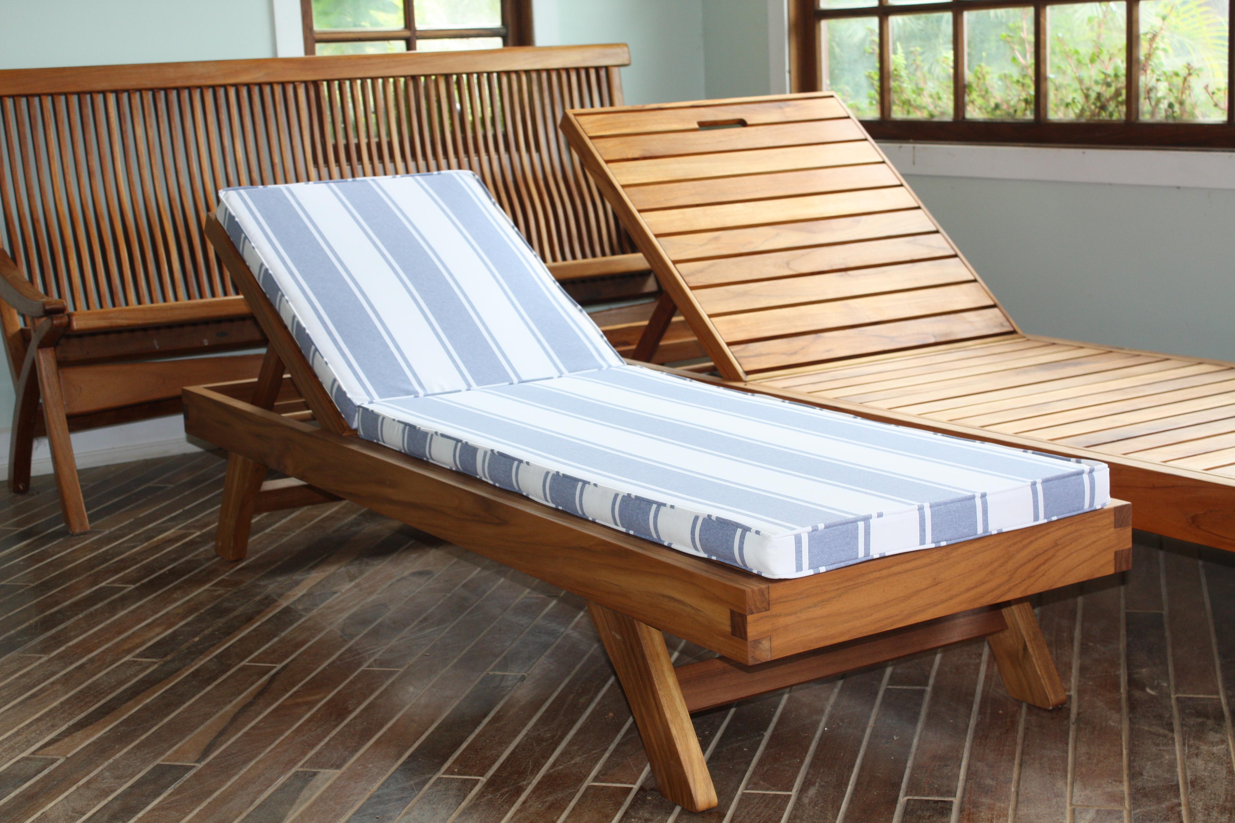 liege liegestuhl teakholz in k then sonstiges. Black Bedroom Furniture Sets. Home Design Ideas