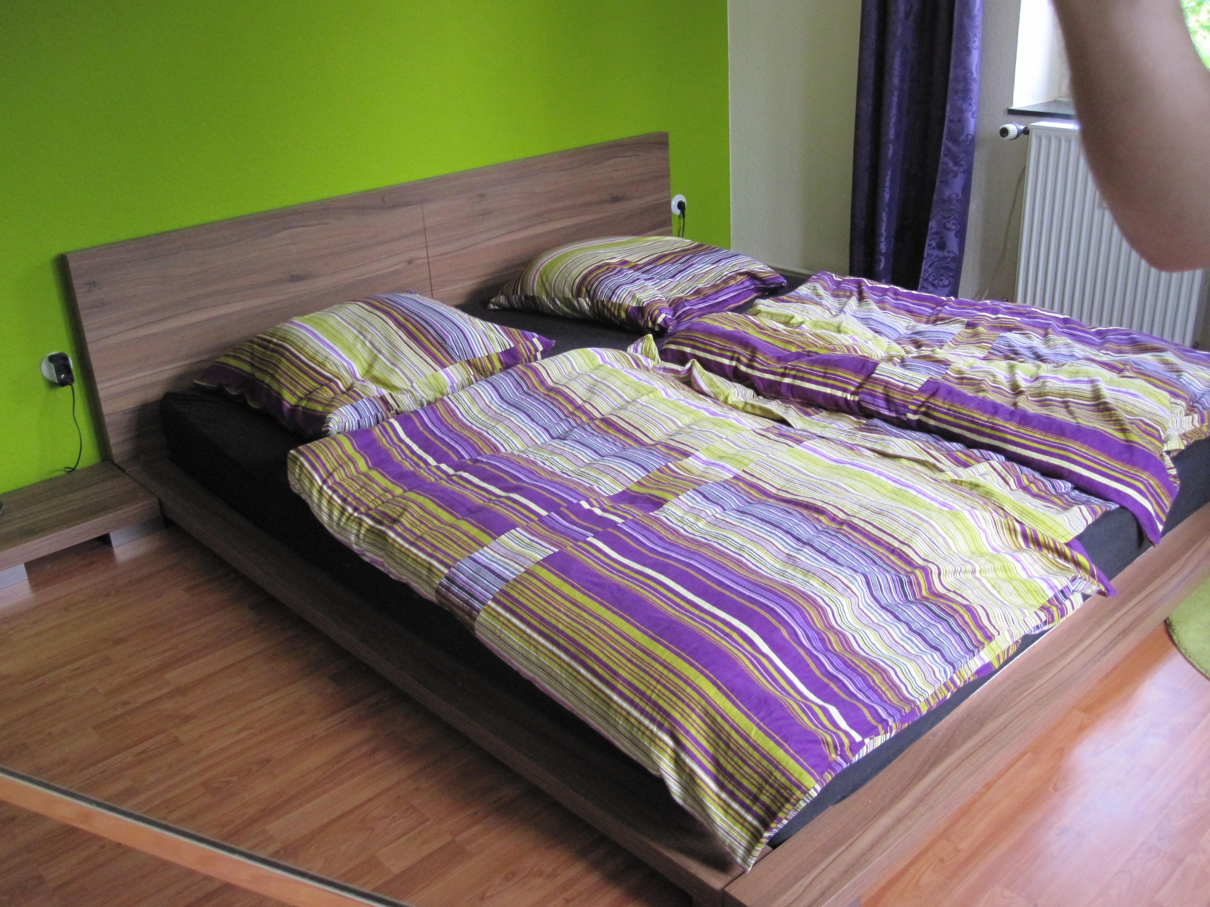 wasserbett eckig softside in schwabhausen m bel und haushalt kleinanzeigen. Black Bedroom Furniture Sets. Home Design Ideas