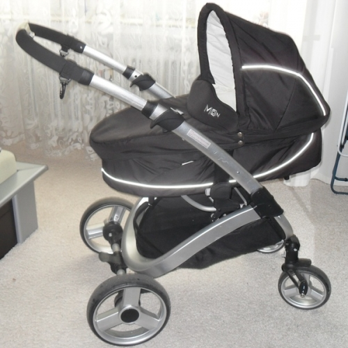 Kombi kinderwagen smile black von moon