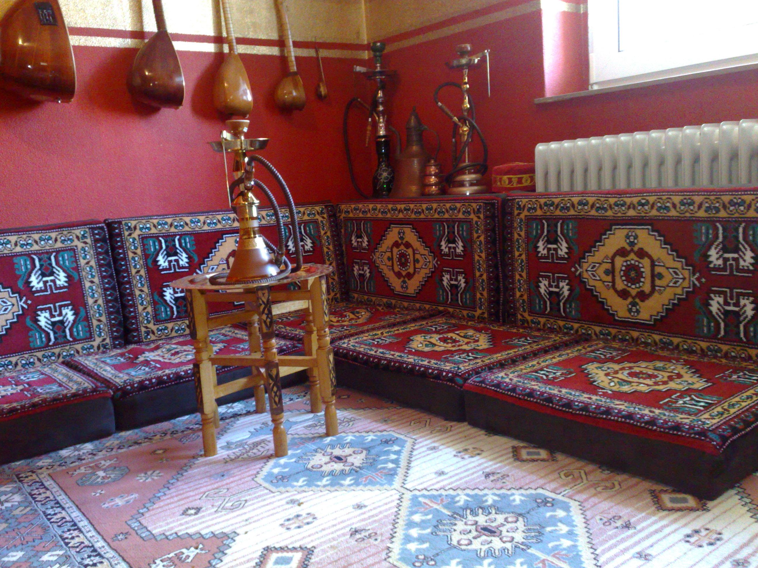Orientalische Sitzecke, Super Qualität