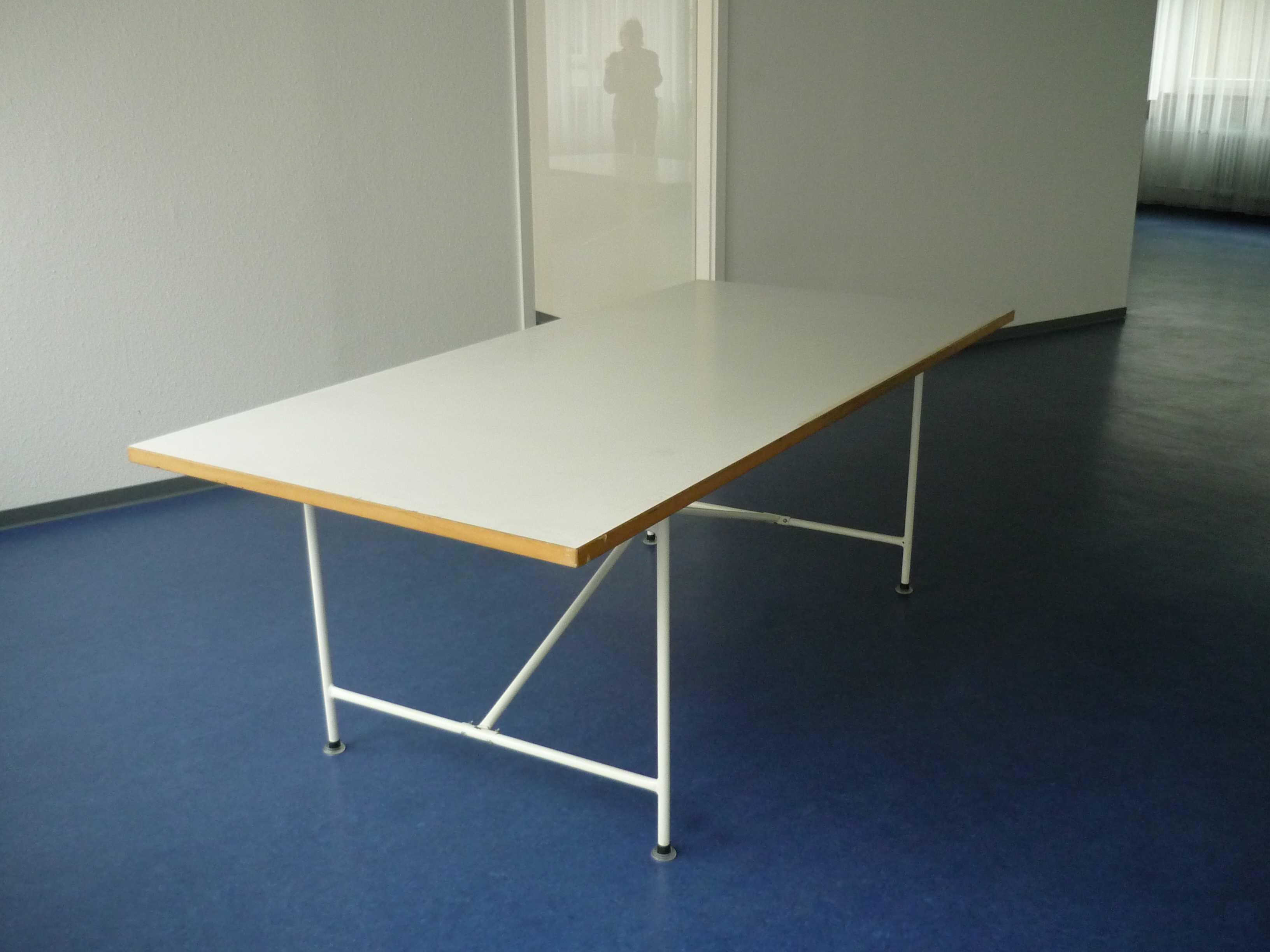 Egon Eiermann Gestell II / Schreibtisch 180 X 90 Cm