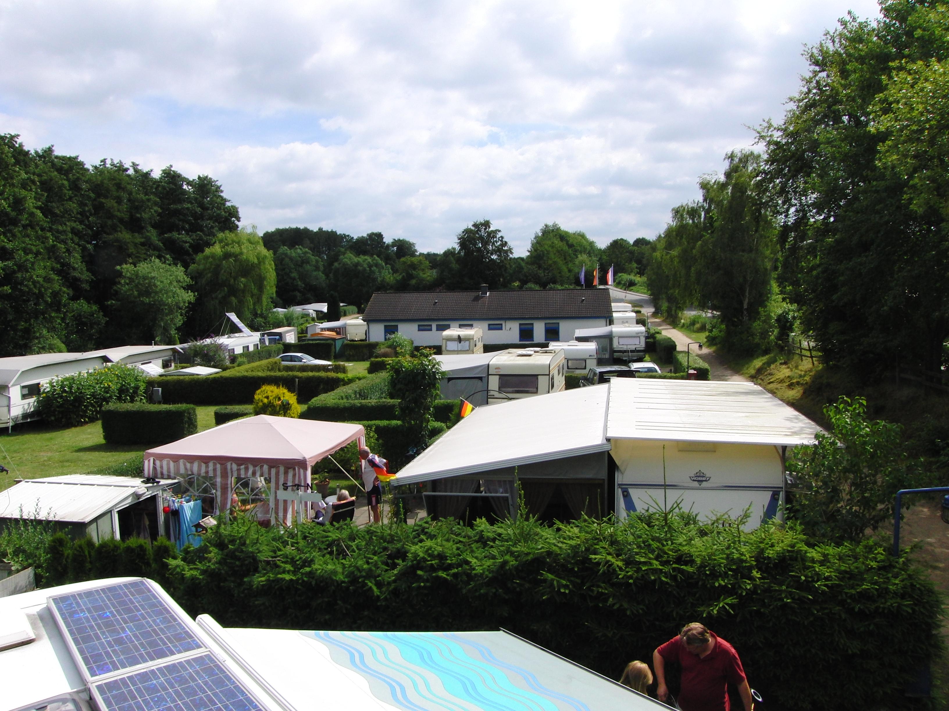 Campingplatz als wohnsitz