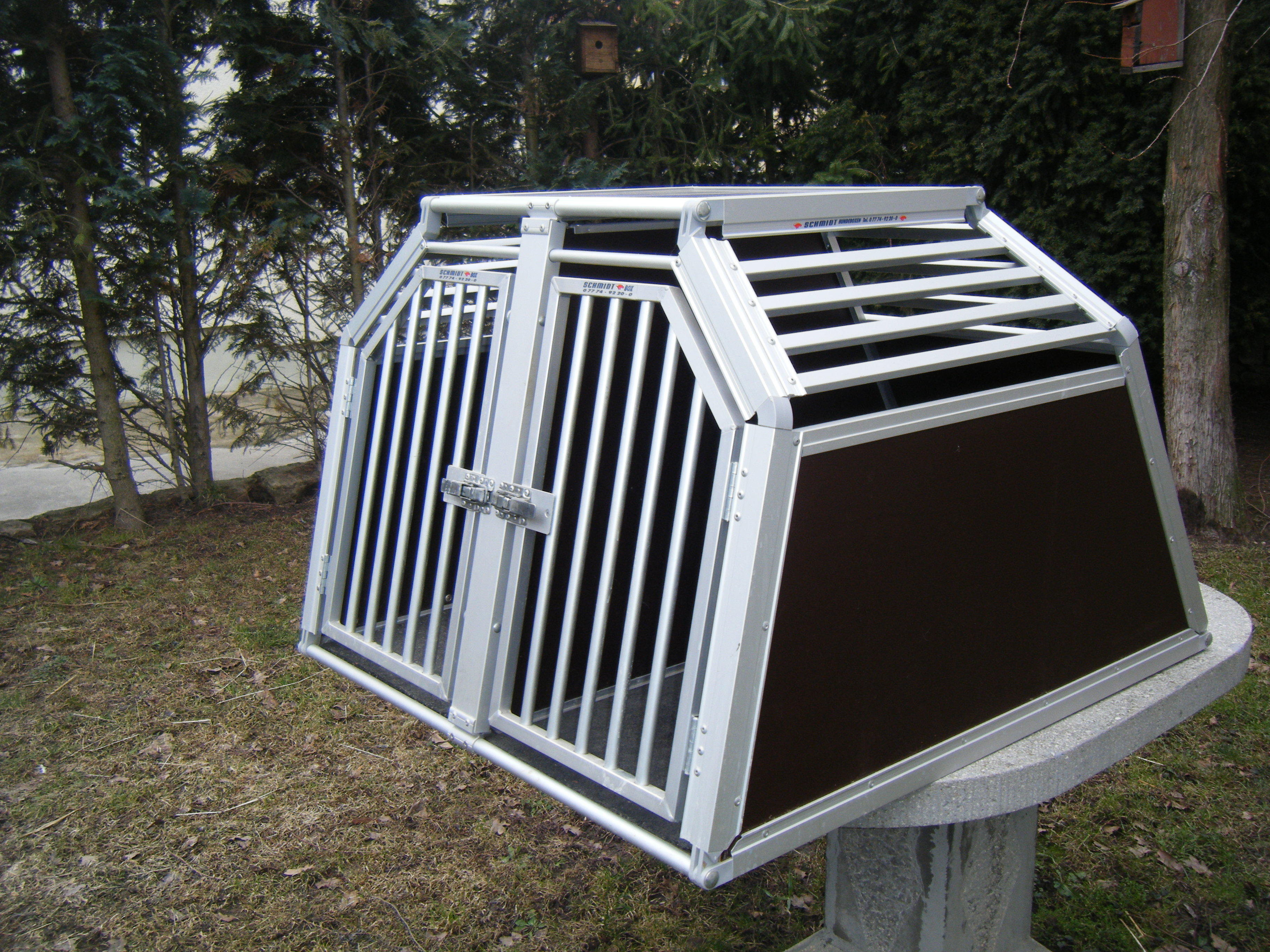 hundetransportbox gulliver in sirksfelde tiere. Black Bedroom Furniture Sets. Home Design Ideas