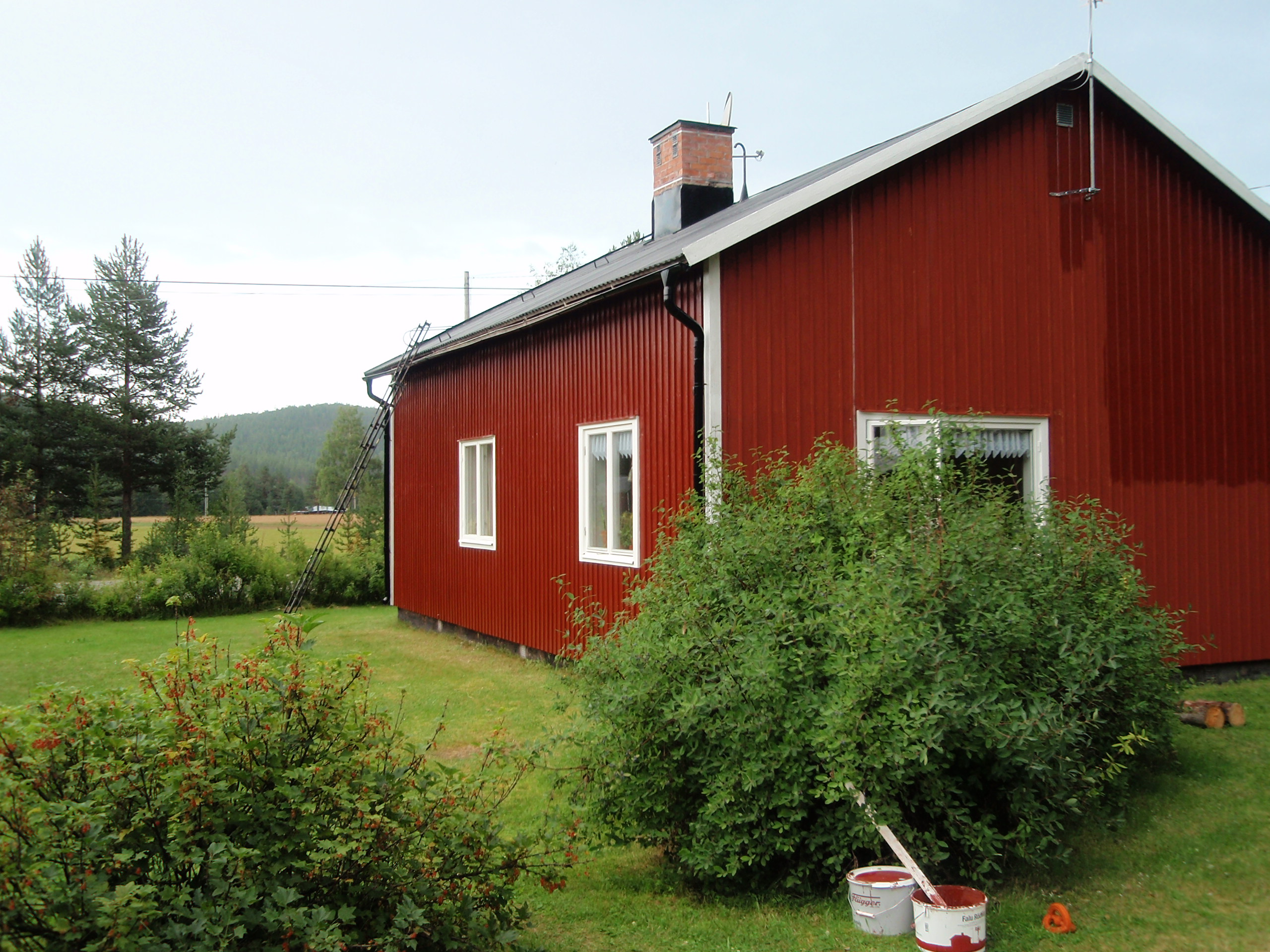 schwedenhaus in schweden in moskosel immobilien. Black Bedroom Furniture Sets. Home Design Ideas