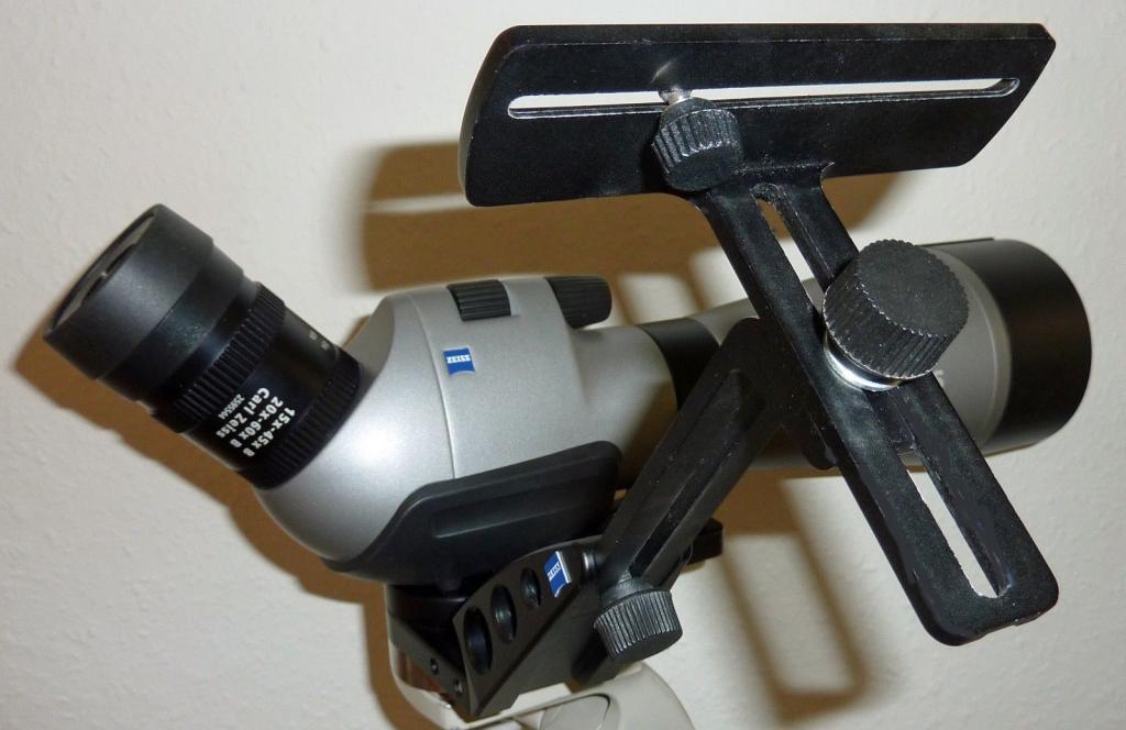 Zeiss diascope fl silber schräg einblick zoom okular with foto