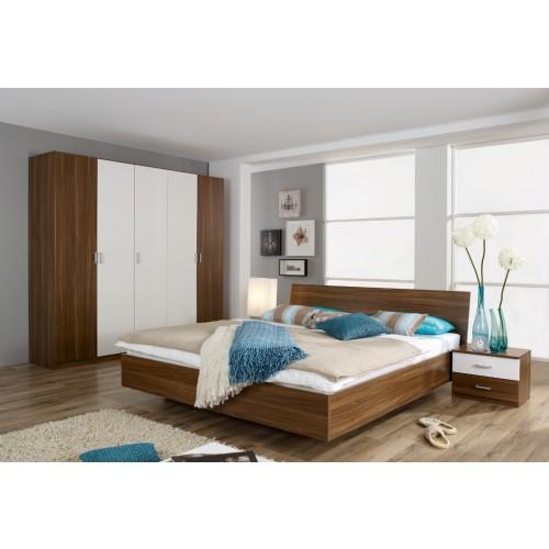 schlafzimmer komplett Weiß hochglanz günstig kaufen AXA Möbel in ...