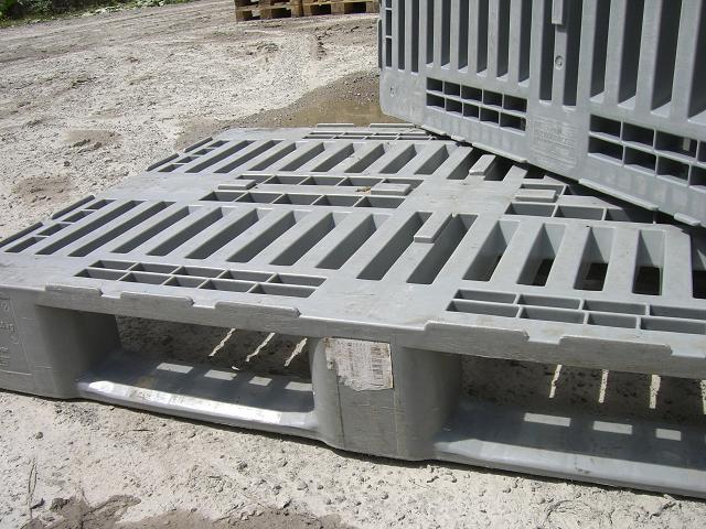 Ankauf - Verkauf H1 Kunststoffpaletten, 1200x800, tauschfähig