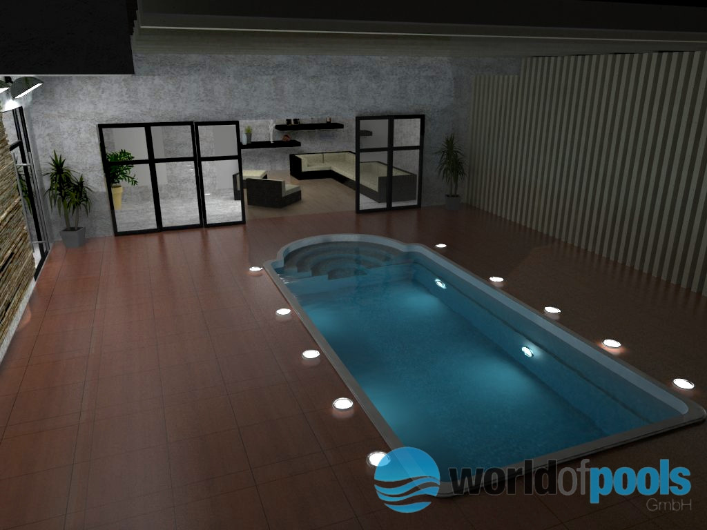 gfk schwimmbecken della 5x3 2x1 swimming pool in heinsberg. Black Bedroom Furniture Sets. Home Design Ideas