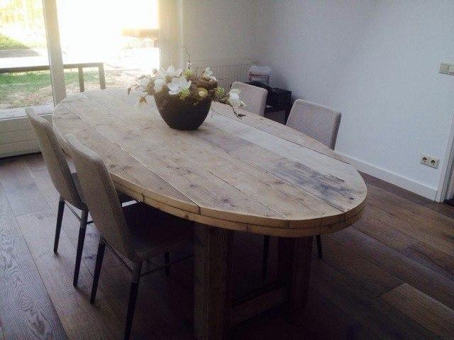 Sehr schöne Bauholz Design Möbel für ins Esszimmer www ...