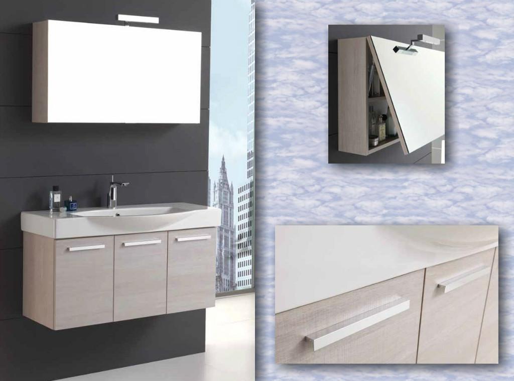 modernes badmöbel manhatten mit spiegelschrank in berlin | möbel, Hause ideen