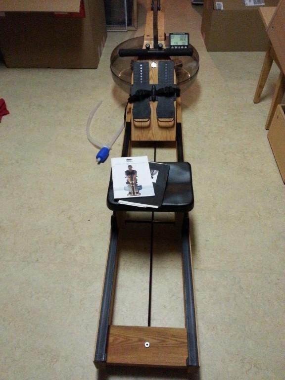ruderger t water rower esche waterrower in weinstadt sport kleinanzeigen. Black Bedroom Furniture Sets. Home Design Ideas