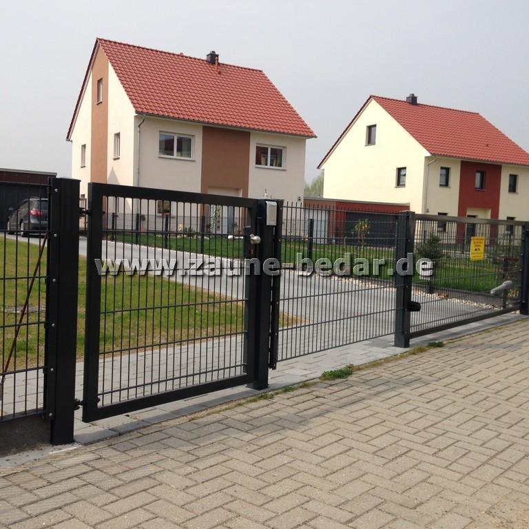 Stabmattenzaun Schmiedeeisernezaun Sichtschutz Aus Polen In Lubeck