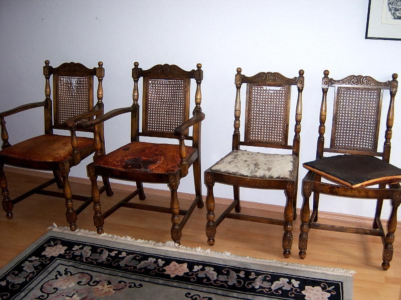 Beautiful Esszimmer Grunderzeit #9: 4 Antike Gründerzeit Stühle Esszimmer Speisezimmer Lounge