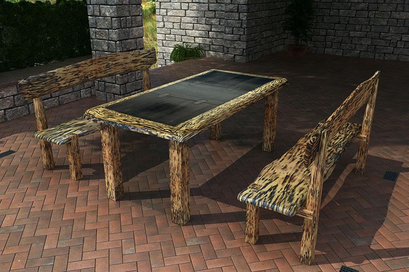 Exklusiv Massiv Terrassen Massivholz Möbel direkt vom ...