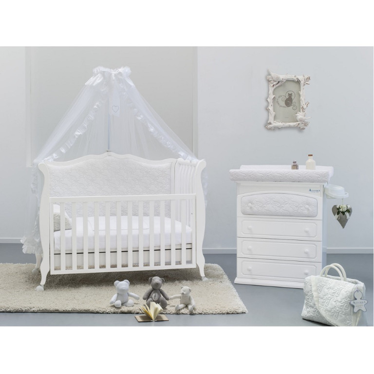shabby chic baby und kinderbett umbaubar zum schicken stilsofa azzurra design in dresden baby. Black Bedroom Furniture Sets. Home Design Ideas
