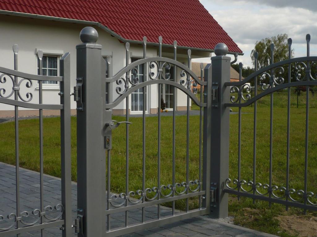 70 Muster feuerverzinkt und pulverbeschichtet Zaun aus Polen von