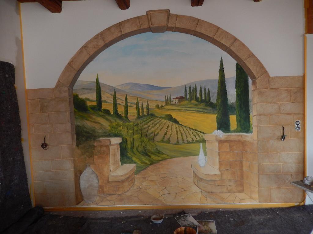 Wandmalerei Innen Und Außen Für Ihr Haus+ Hof
