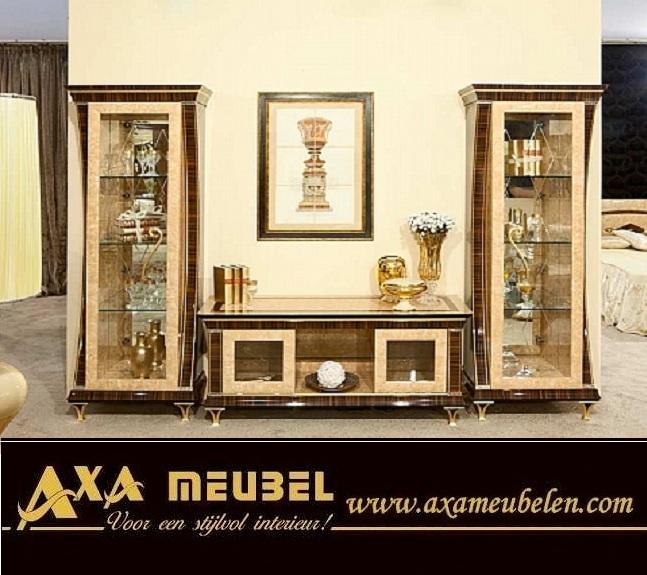 Klassische italienische hochglanz wohnzimmer axa m beln in for Italienische moebel