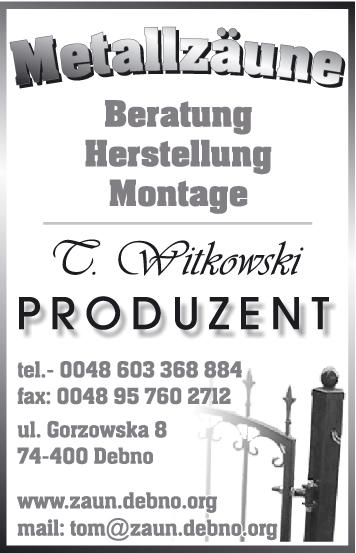 Zaune Aus Metall Witkowski Direkt Vom Polnischen Hersteller Zaunbau