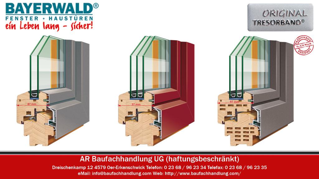 Bayerwald Fenster bayerwald fenster und haustüren mit tresorband in oer erkenschwick