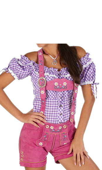 lederhose pink lila gr n trachten dirndl wiesn oktoberfest. Black Bedroom Furniture Sets. Home Design Ideas