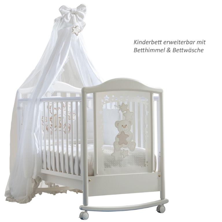 kinderbett meggie wei buche holz massiv pali kinderm bel. Black Bedroom Furniture Sets. Home Design Ideas