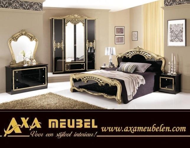 schlafzimmer komplett schwarz hochglanz günstig kaufen AXA Möbel