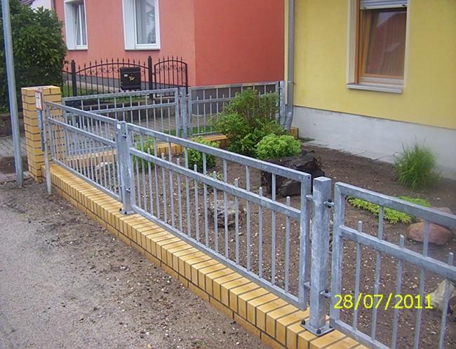 Zaun Zaune Metallzaun Metallzaune Zaeune Aus Polen Witkowski In