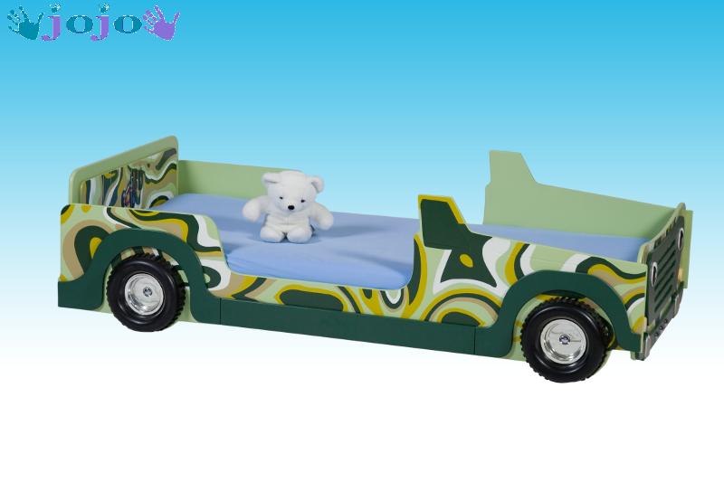 Kinderbett auto grün  Auto Kinderbett Comouflage Jeep in Weihmichl | Möbel und Haushalt ...