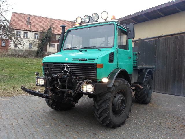 unimog 406 gebrauchte agrarfahrzeuge kaufen in hessen. Black Bedroom Furniture Sets. Home Design Ideas