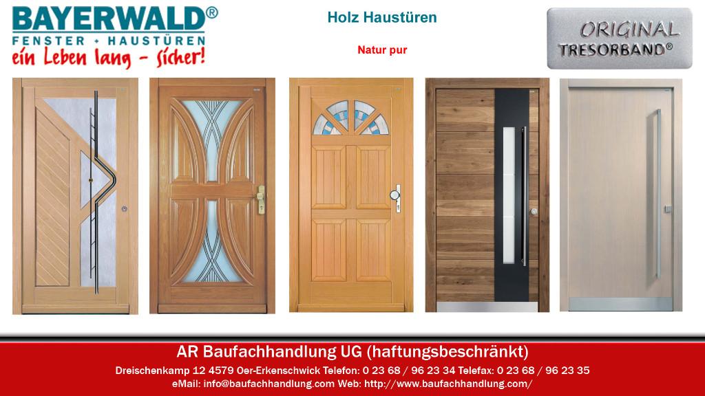 Bayerwald Haustüren bayerwald aktions holzhaustüren holz haustüren in oer erkenschwick