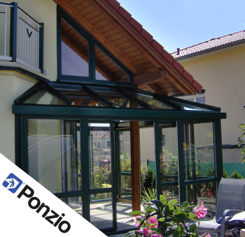 wintergarten kunststoff aluminium winkhaus veka ponzio
